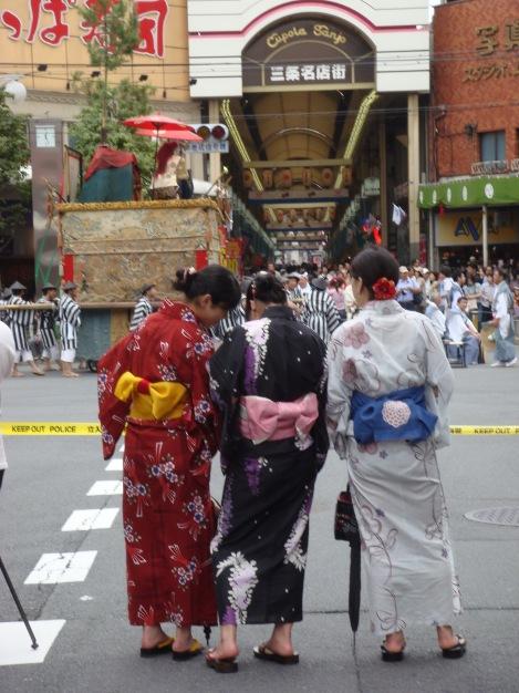 Gion Matsuri festival, Kyoto
