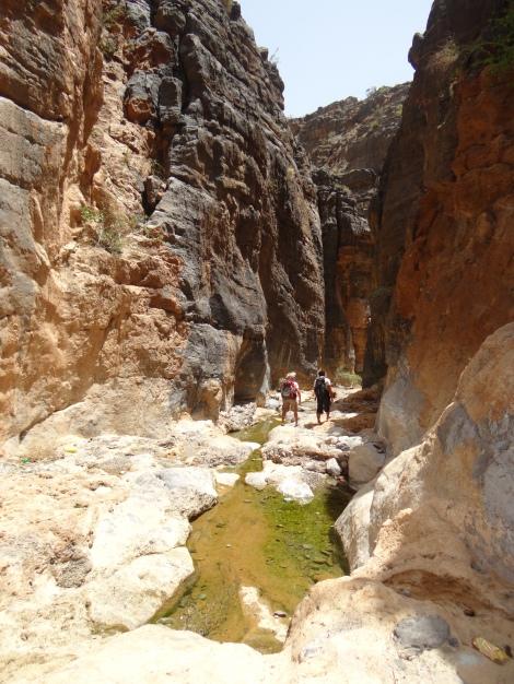 Hiking around Balad Sayt